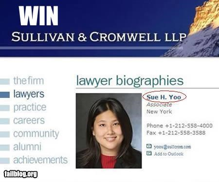appropriate g rated lawyer name sue you - 2561380352