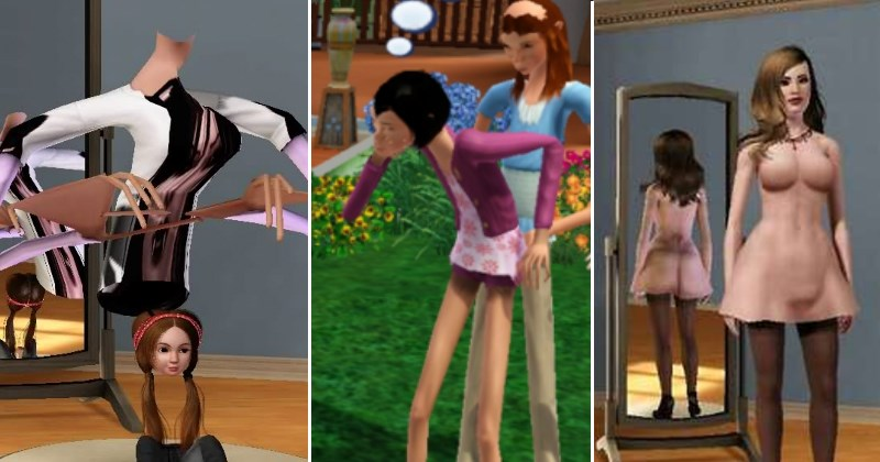 glitches video games The Sims - 2562821