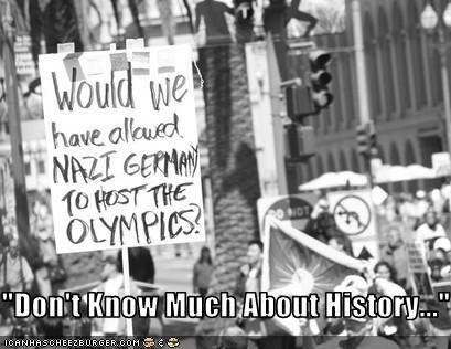 history nazis olympics protesters - 2563214080