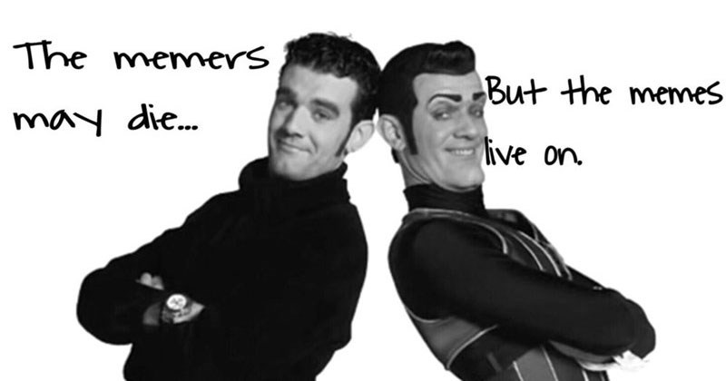 Collection of memes in support of Stefan Karl Stefansson, of Lazy Town, who plays Robbie Rotten. He is fighting terminal cancer.