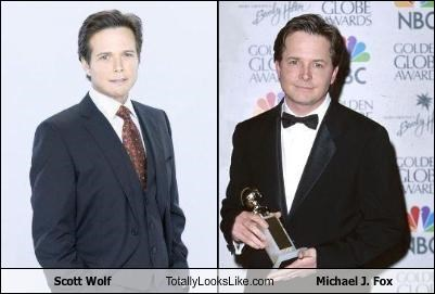 actor michael j fox movies scott wolf TV