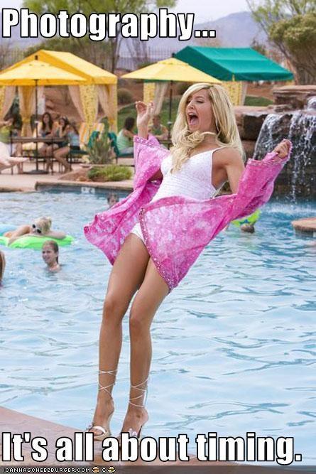 Ashley Tisdale,fall,swimming pool,women