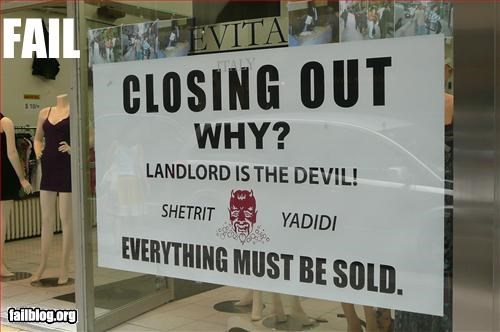 Landlord Fail