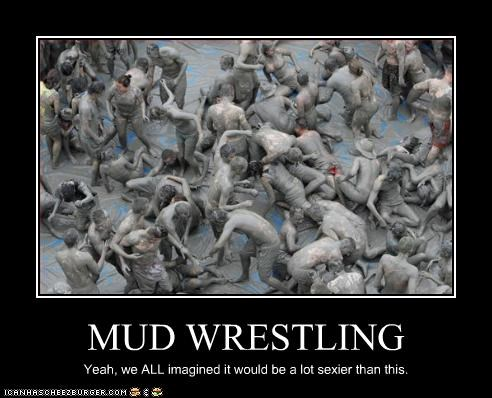 mud wrestling - 2573634304