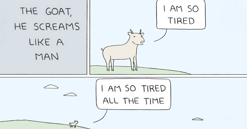 10+ Hilarious Moments From the Absurd World of 'Poorly Drawn Lines'