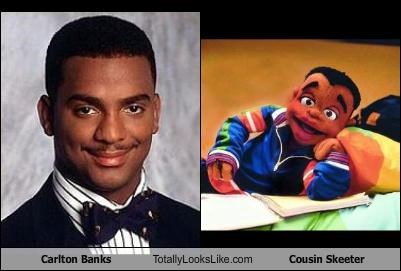 Carlton Banks Totally Looks Like Cousin Skeeter