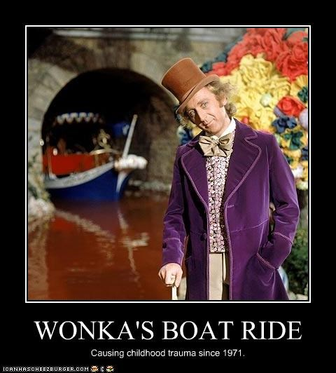 boat Charlie and the Chocolate Factory gene wilder Willy Wonka - 2582733312