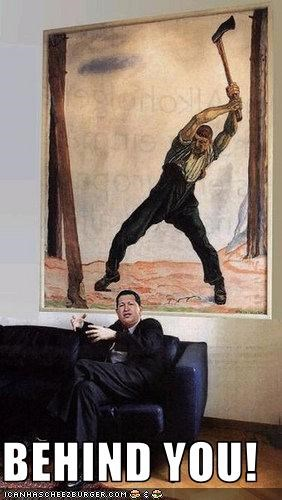 Hugo Chávez paintings president Venezuela