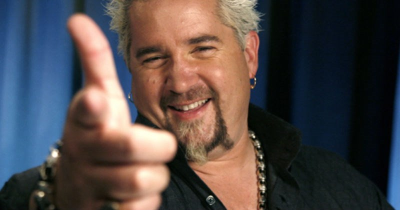 Celebrity Chef Guy Fieri tells the world that donkey sauce is just aioli during a candid interview.