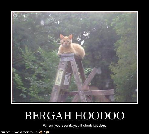 BERGAH HOODOO When you see it..you'll climb ladders