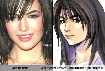 Camilla Belle Totally Looks Like Rinoa Heartilly Final Fantasy 8