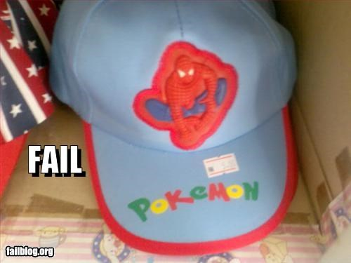 g rated,hat,mislabel,Pokémon,Spider-Man