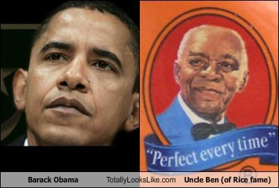 Funny Memes For Uncles : Barack obama totally looks like uncle ben of rice fame