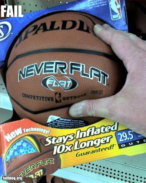 ball basketball deflated flat g rated never - 2606427136