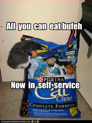 All you can eat bufeh Now in self service