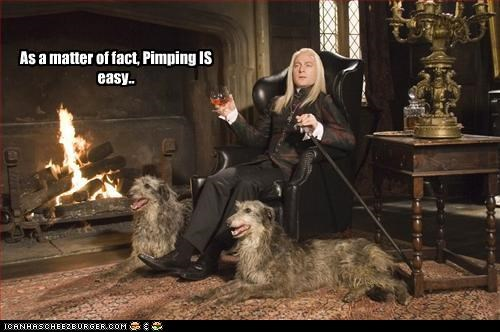 British Harry Potter Jason Isaacs Lucius Malfoy pimp sci fi - 2612593152