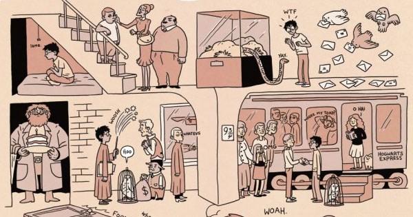 resumen harry potter 8 comics
