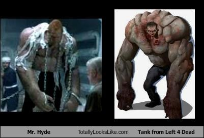 dr-jeckyll-and-mr-hyde Left 4 Dead tank video games villains - 2624893440