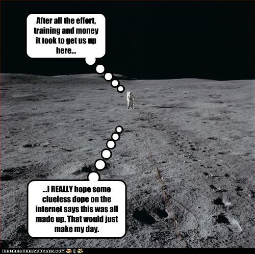 astronaut Historical hoax internet mood landing nasa - 2627128832