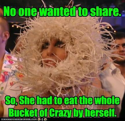 costume crazy lady gaga Music - 2631263744
