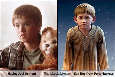 actor animation child child star haley joel osment polar express