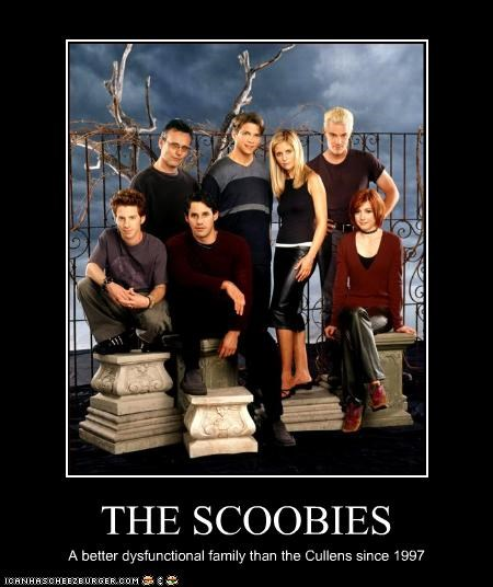THE SCOOBIES A better dysfunctional family than the Cullens since 1997