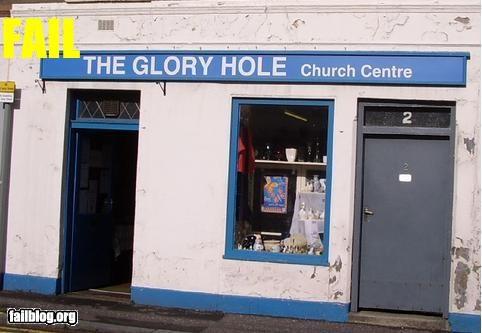 church,glory,hole,name,signs