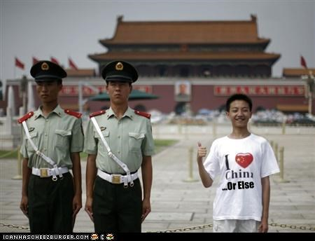 child,China,clothing,guards,love,T.Shirt