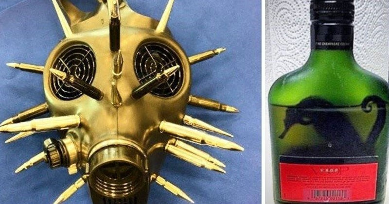 TSA Twitter account shares pictures and stories of some of their craziest discoveries.