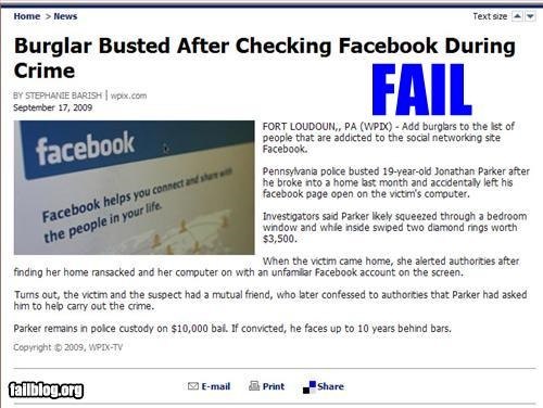 article,burglar,busted,crime,facebook,g rated,news