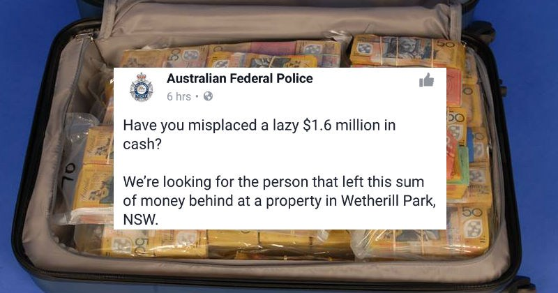 Funny social media interactions from the Australian Federal Police Facebook account.
