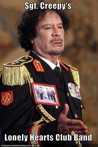 costume muammar al-gaddafi the Beatles uniform - 2643882496