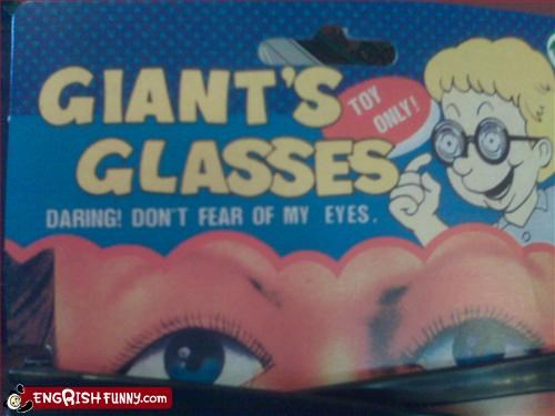daring dont eyes fear giant glasses g rated toys - 2645517568