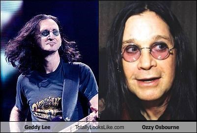 geddy lee glasses musician Ozzy Osbourne rush