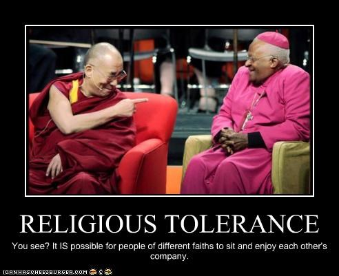 anglican Archbishop Desmond Tutu buddhism Dalai Lama faith religion tolerance