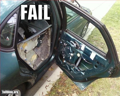 broken cars door g rated junker panel - 2658131456