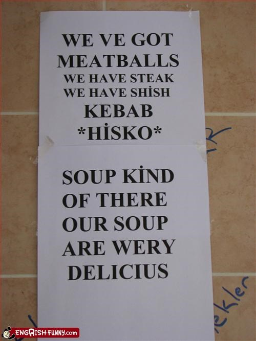 delicious food g rated kebabs meatballs restaurant signs soup steak very