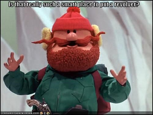 animation cartoons crotchtastic guns yukon cornelius - 2659346688