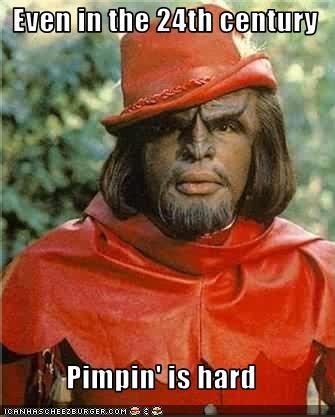 easy Michael Dorn pimp sci fi Star Trek Worf - 2659535360