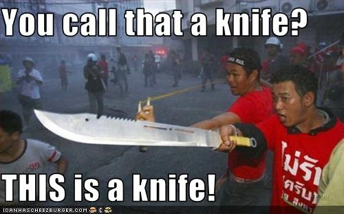fighting knife - 2664033280