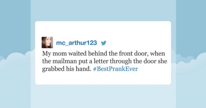 People share the best pranks they've ever played in honor of Jimmy Fallon trending Twitter hashtag.