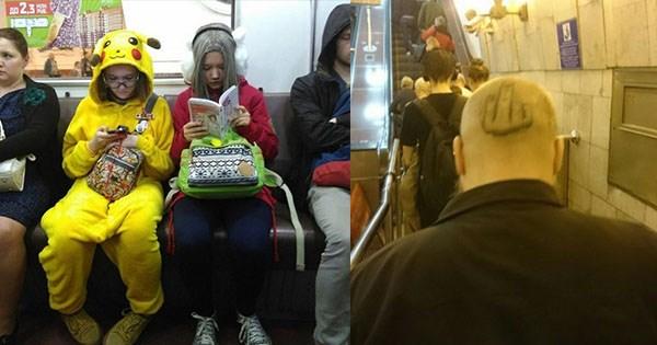 modas que se encuentran en el metro
