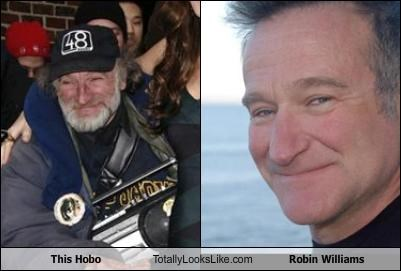 This Hobo Totally Looks Like Robin Williams