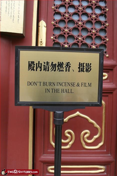 burn,dont,film,g rated,incense,signs