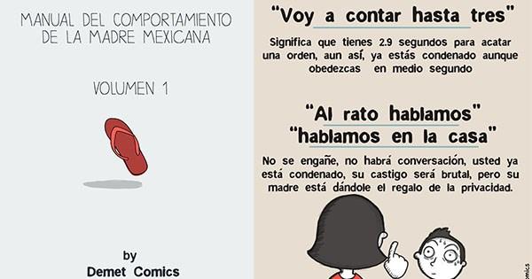 vineta Demet Comics madres