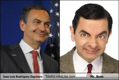 Jose Luis Rodriguez Zapatero Totally Looks Like Mr Bean