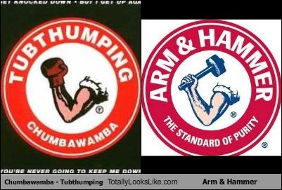 arm-hammer band chumbawamba logo Music tubthumping - 2674188544