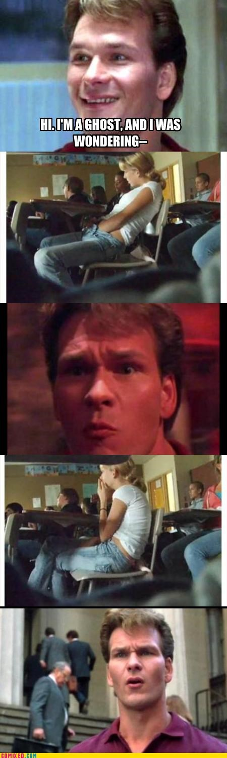 celebutard ghost Patrick Swayze smell my finger - 2675481344