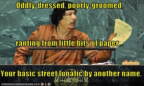 dictator libya lunatic muammar al-gaddafi un United Nations - 2677613312