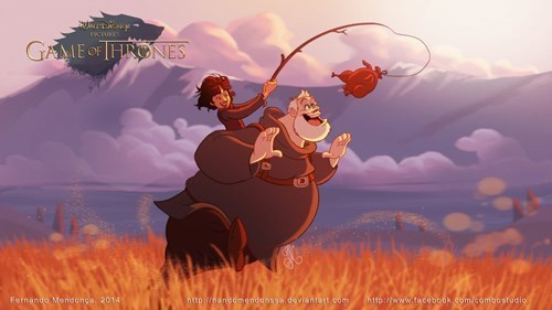 disney Game of Thrones Fan Art cartoons - 267781